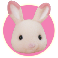 Sylvanian Families Japanese Momoiro Strawberry Rabbit Family