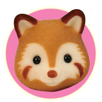 Sylvanian Families Robinson Redwood Red Panda Family