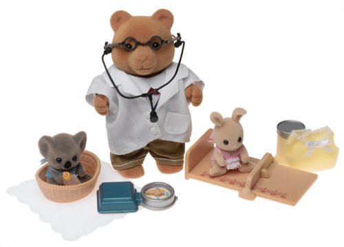 Calico Critters Doctor Murdock