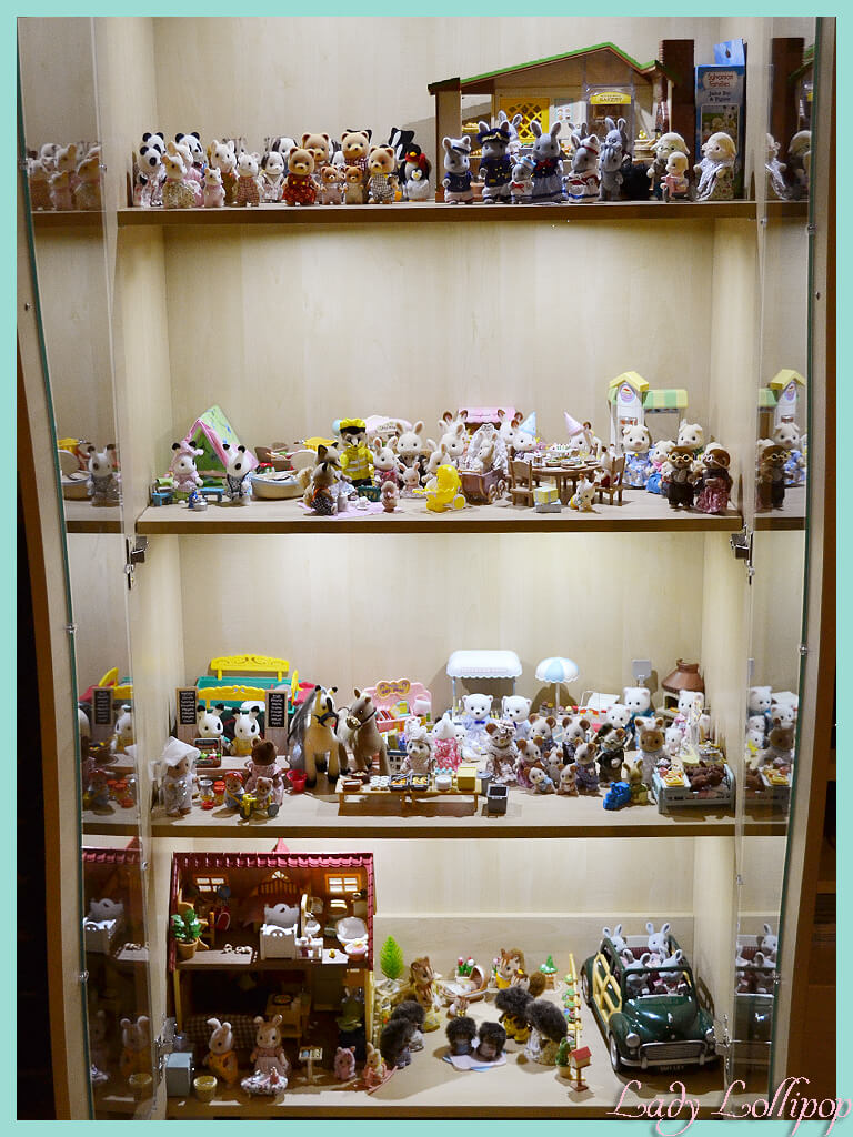 My South African Sylvanian Families and Calico Critters display