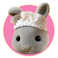 Sylvanian Families Brighteyes Rabbit Family