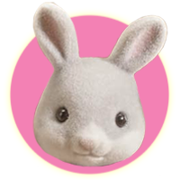 Sylvanian Families Cottontail Rabbit Family