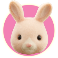 Sylvanian Families Hopkins Champagne Rabbit Family